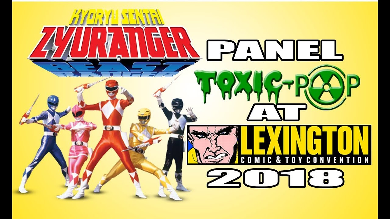 Kyōryū Sentai Zyuranger Panel at Lexington Comic & Toy Con 2018