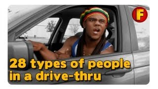 4YallEntertainment - 28 Types of People in a Drive-Thru