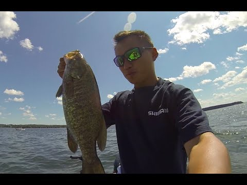 Fishing  For Smallmouth At Big Green Lake