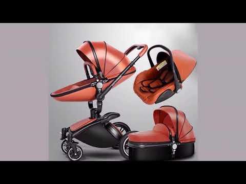 3-in-1-leather-stroller,-car-seat-&-bassinet