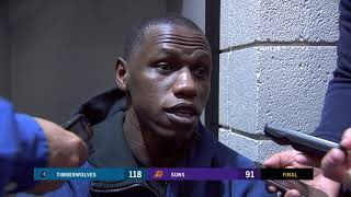 Gorgui Dieng on his confrontation with Devin Booker