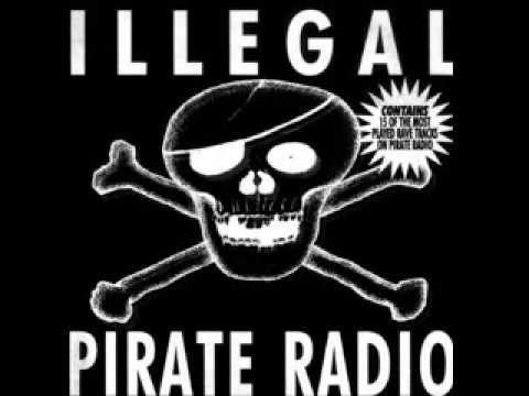 ILLEGAL PIRATE RADIO 1993 Limited Edition Megamix hardcore breakbeat)