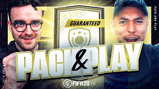 HUGE GUARANTEED PRIME MOMENTS ICON SBC!!! Fifa 20 Pack And Play