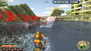 Jet Ski Racer Level 1 Gameplay