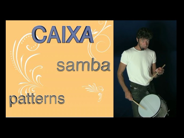 Caixa - Samba Reggae - Phrase 2 Mocidade