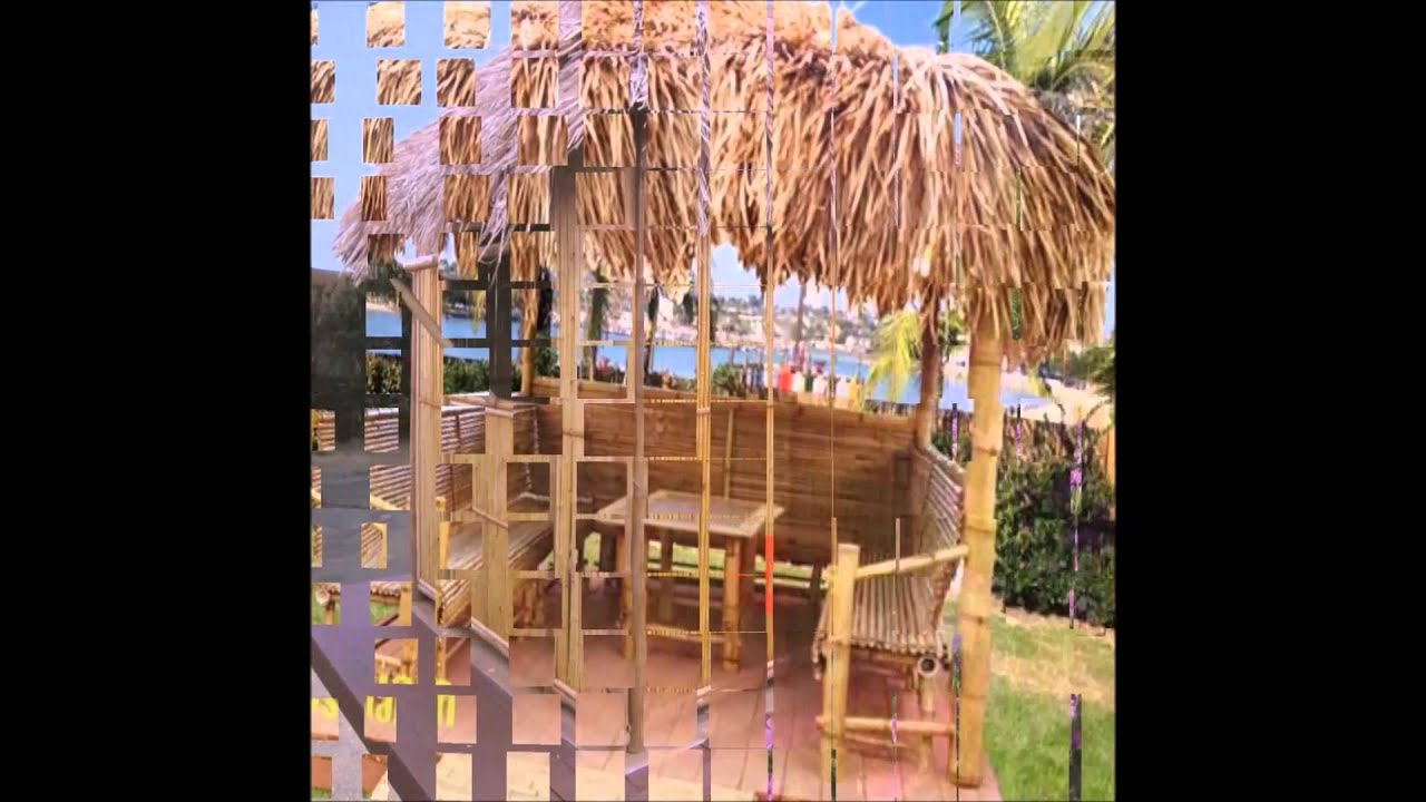 Exotic Tropical Tiki Huts Custom Built Palapa Tiki Huts