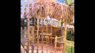 Exotic Tropical Tiki Huts-custom Built Palapa,tiki Huts For Sale,round Gazebo,thatched Roof