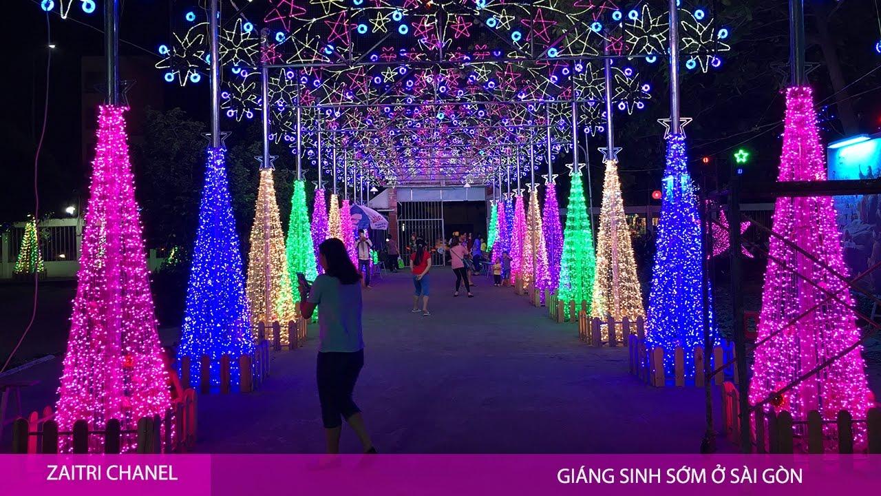 noel 2018 tphcm Đón giáng sinh sớm ở Sài Gòn   không khí Noel tại Tp Hồ Chí Minh  noel 2018 tphcm