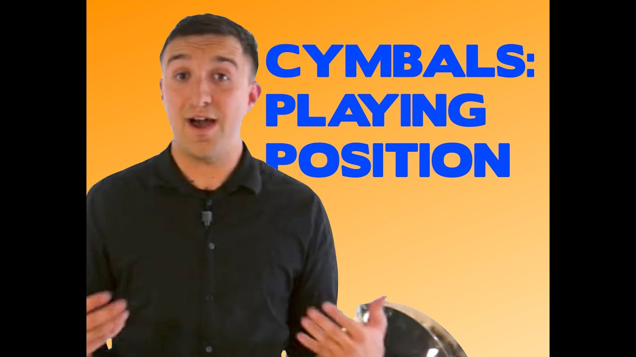 Holding Crash Cymbals : crash cymbal playing position how to stand position your body and hold crash cymbals youtube ~ Hamham.info Haus und Dekorationen