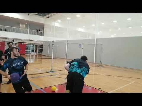 Elite Dodgeball - 8.5 Pinch Throw