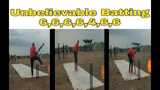 INCREDIBLE BATTING | BEST BATTING EVER | CRICKET TOURNAMENT | GULLY CRICKET