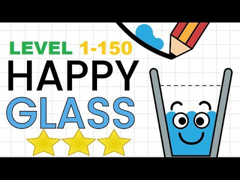 Happy Glass Levels 1 - 150. 3 Stars Full Walkthrough