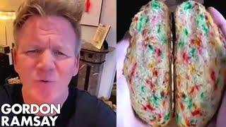 Gordon Ramsay Roasts Donut Bread