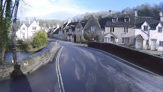 Cotswold Motorcycle Ride to Castle Combe UK on ZZR 1400 ZX-14R