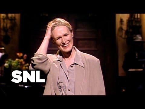 Glenn Close Monologue: William Hurt - Saturday Night Live