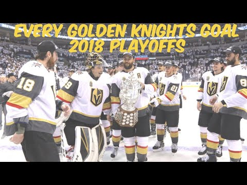 Vegas Golden Knights - Every 2018 Playoffs Goal (Western Champions)