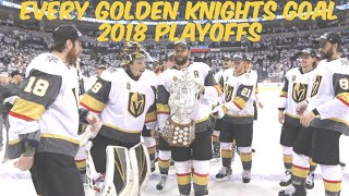 Vegas Golden Knights - Every 2018 Playoffs Goal (Western Champions)