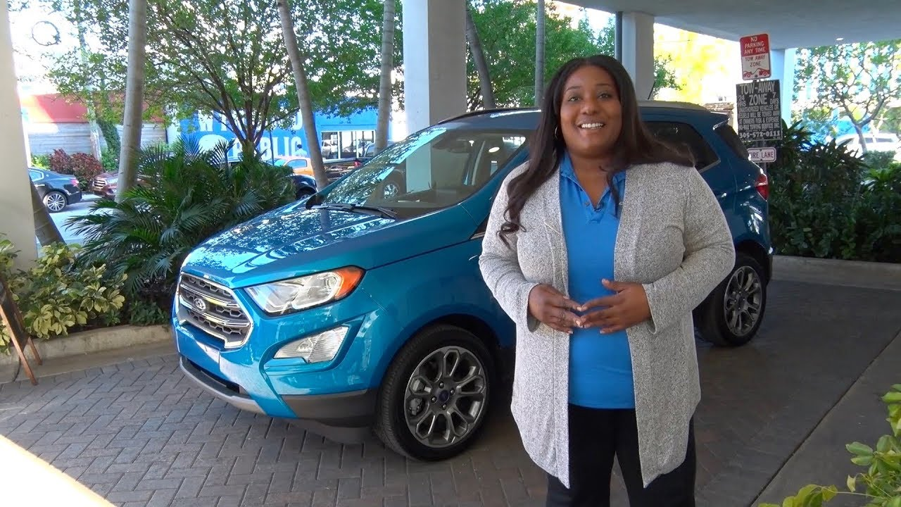2018 Ford EcoSport presentation in Miami  YouTube