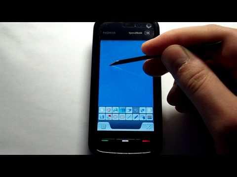 Nokia 5800: Программа - Рисовалка [Paint pad v1.0]