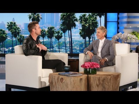 Scott Speedman's Secret Swim at Ellen's House