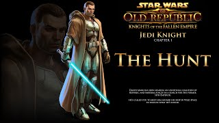 SWTOR Knights of the Fallen Empire: The Hunt - Jedi Knight Story