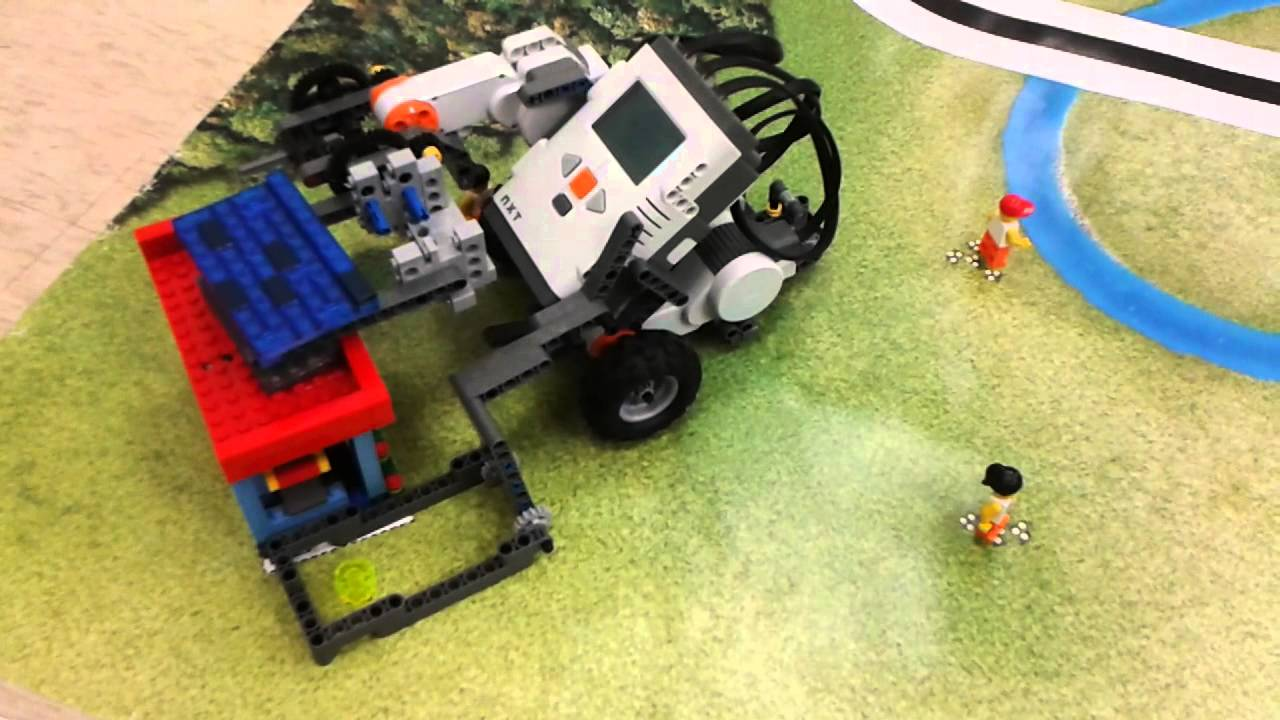 Lego Green City Challenge Solar Panel Youtube
