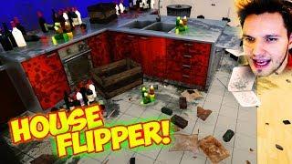 IN DIESEM HAUS WAR EIN MORD ?!?!? (Blut auf dem Tisch)   House Flipper