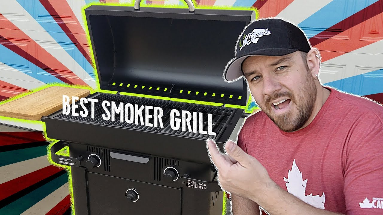 Best Pellet Smoker Grill Combo Black Earth Grills Hybrid Propane And