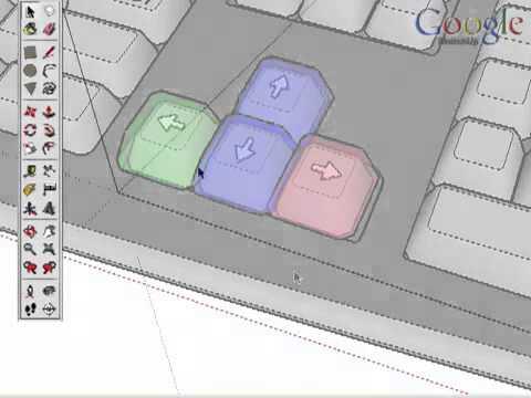 Google SketchUp v.8 - программа для создания