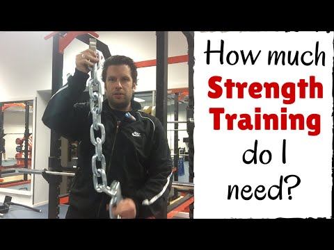 Strength Training Explained: How Much Strength Training do I need? Strength Training for Beginners