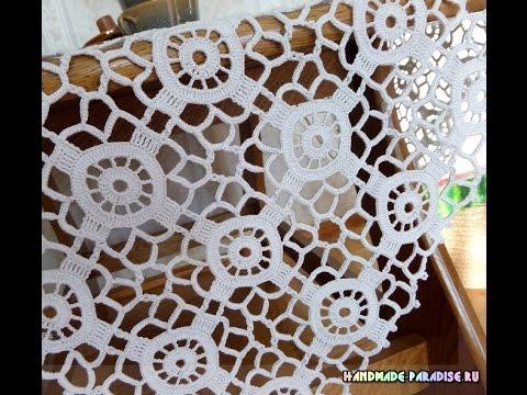 Crochet Patterns For Free Crochet Bedspread 1707 Youtube