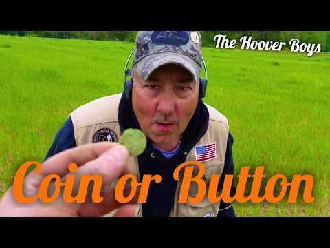 Metal Detecting Colonial Coins and Buttons | Coin or Button