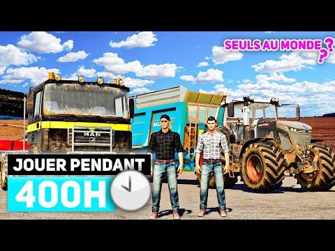 ILS ont JOUÉS 400 HEURES sur NO MAN'S LAND ! (Farming Simulator 19)