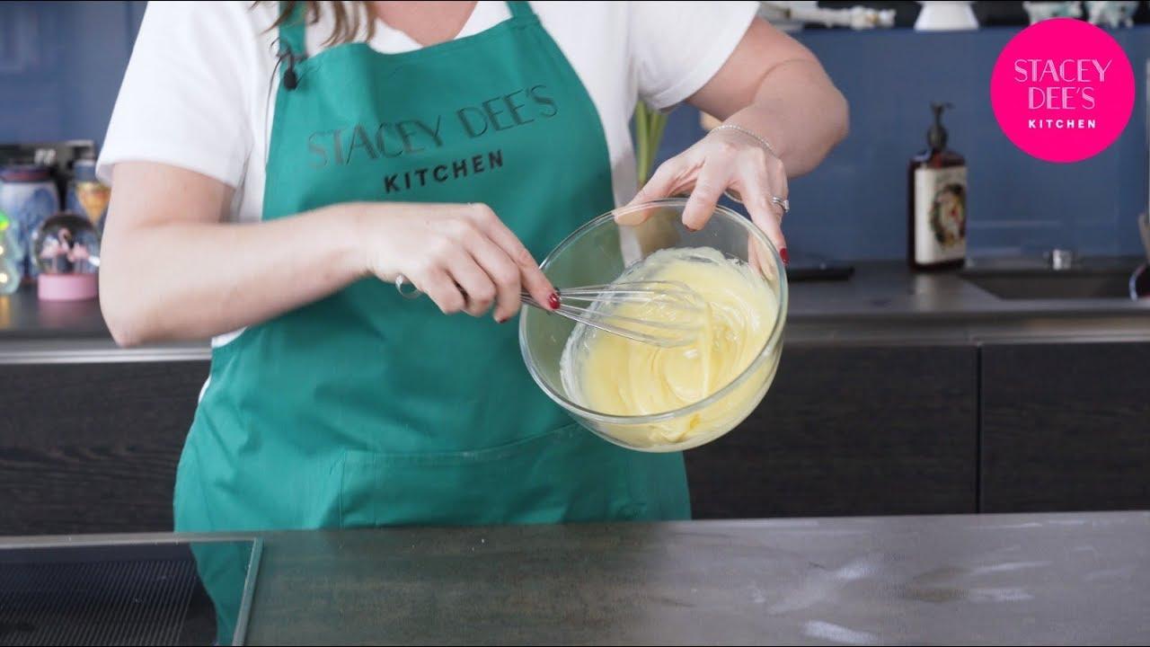 How to Make White Chocolate Ganache (short tutorial) | Stacey Dee\'s ...