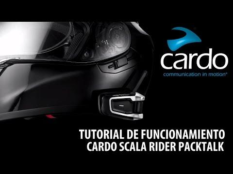 Tutoriales Corver / Funcionamiento Cardo Scala Rider Packtalk