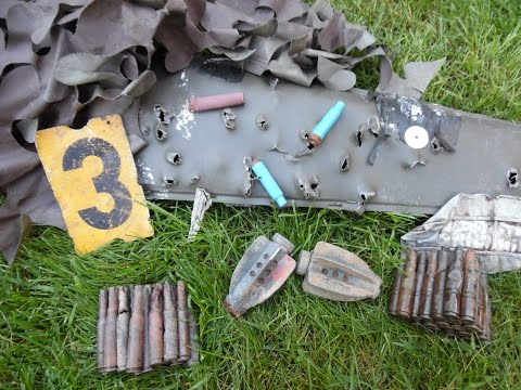 Metal Detecting in Germany (10) - Old military training area detected