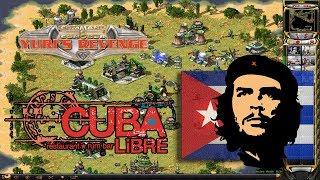Red Alert 2 - Cuban force against 5 AI - Sunctuary