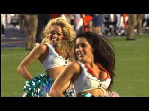 Dolphins Cheerleader Performance - 8/27/10