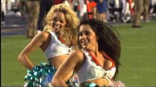 Dolphins Cheerleader Performance - 82710