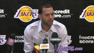 Jordan Famar Lakers Press Conference