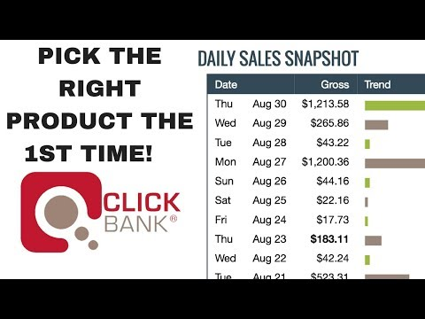 How To Choose The Best Clickbank Product To Promote In 2018 & 2019