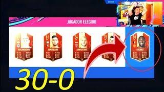 PRIMERA CUENTA 30-0 EN FUT CHAMPIONS DE ESPAÑA... RECOMPENSAS !!
