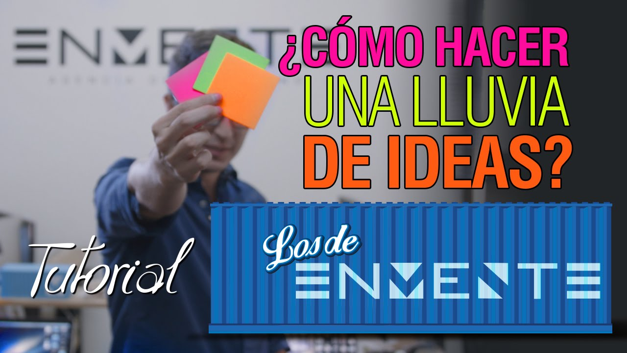 Tutorial c mo hacer una lluvia de ideas youtube for Como construir una pileta de hormigon
