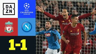 Baixar Lovren rettet Reds in Anfield: Liverpool - Neapel 1:1 | UEFA Champions League | DAZN Highlights