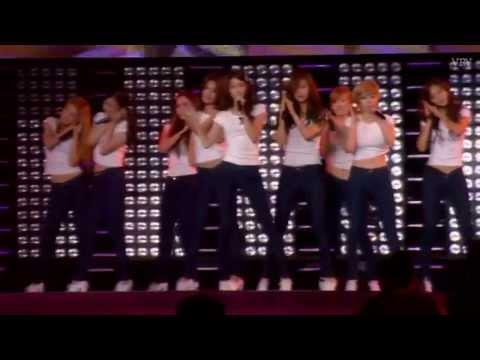SNSD  - Gee with Super Junior Audio