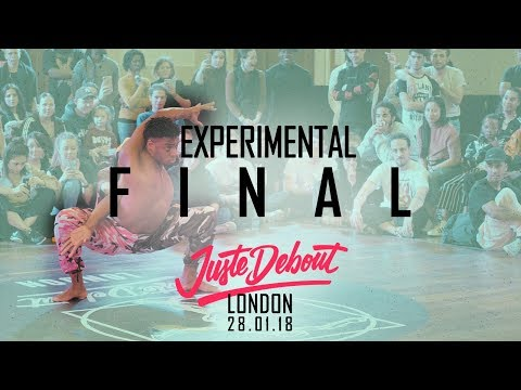 Juste Debout - London 2018 - Bonetics - Experimental Final