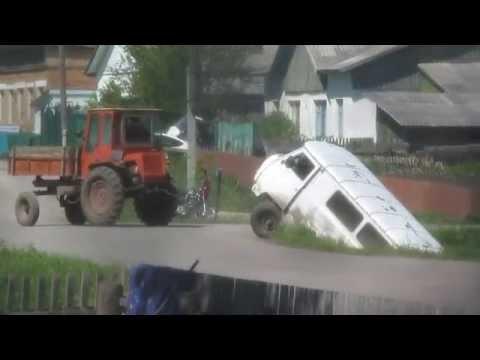 Т-16 и УАЗ-2206