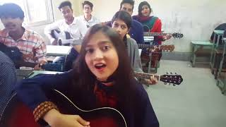 Dhono Dhanno Pushpe Bhora - Guitar Version ll Subscriber  Special ll  #myaudiojunction