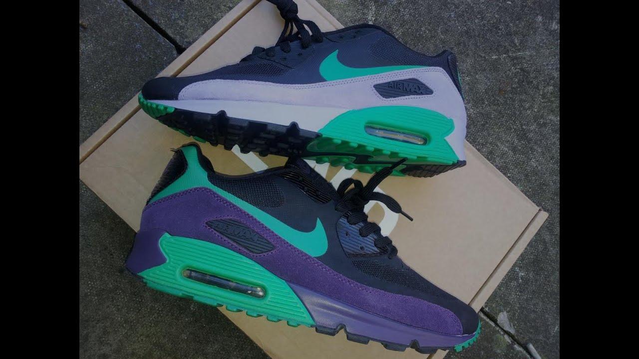 Nike Air max 90 HYP PRM Black Green Purple