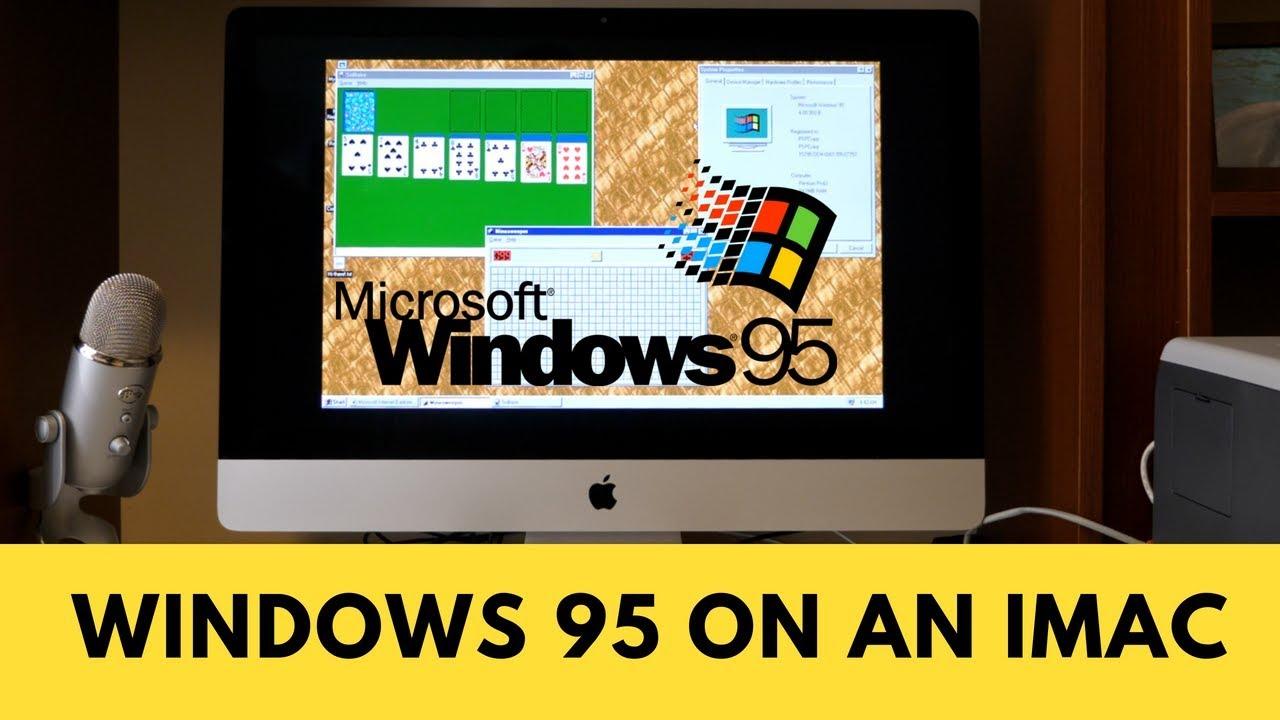 Windows 95 App for Mac!